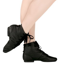 "Adult Leather ""Soho"" Jazz Boot - Style No JB1L"