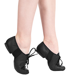 """Adult Leather/Neoprene """"Tivoli"""" Jazz Shoe - Style No JS1L"""