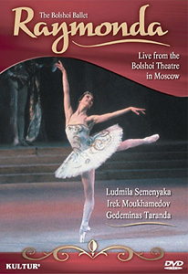 Raymonda DVD - The Bolshoi Ballet In Moscow - Style No KUD1170