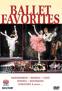 Ballet Favorites DVD - Style No KUD2025