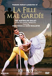 La Fille Mal Gardee - The Australian Ballet DVD - Style No KUD2115