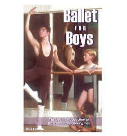 Ballet For Boys With Richard Glasstone DVD - Style No KUD2208