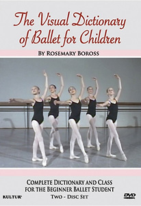 Visual Dictionary Ballet For Children DVD - Style No KUD2876