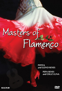 Masters of Flamenco: Early Television Concerts DVD - Style No KUD2994