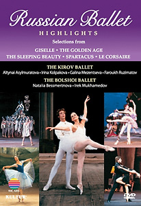 Russian Ballet Highlights DVD - Style No KUD4171