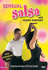 Sensual Salsa With Elder Sanchez DVD - Style No KUD4243