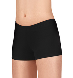 "Girls Dance Shorts with 1 1/2"" Inseam - Style No LO10"