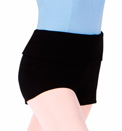 Rollover Warm-up Shorts - Style No M1103