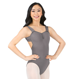 Adult Pinch Front X-Back Tank Leotard - Style No M2664