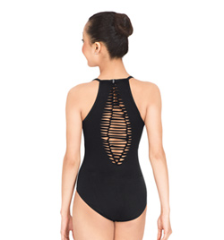 Jozette Camisole Leotard With Shirred Back - Style No MJ7127x