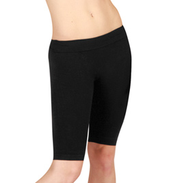 Lowrise Dance Short with Ribbed Waist - Style No MPS01