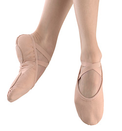 "Adult ""Medley""Canvas Split-Sole Ballet Slipper - Style No MS225"