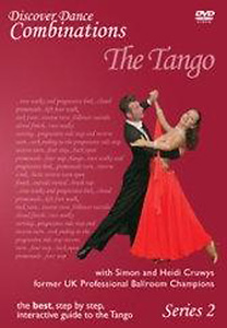 Discover Dance Combinations: The Tango Series 2 DVD - Style No MVDDDC1703