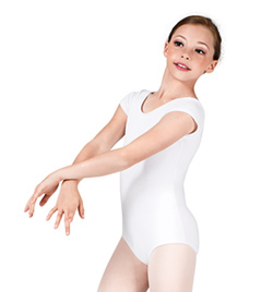 Child Short Sleeve Cotton Leotard - Style No N5502C