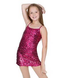 Child Dress With Attached Leotard - Style No N7001Cx