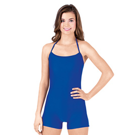 Adult Halter Shorty Unitard - Style No N7004