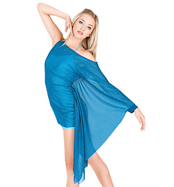 Adult Asymmetrical Drape Sleeve Tunic - Style No N7112
