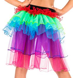 Child Rainbow Bustle Tutu - Style No N7131C