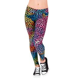 Girls Wild Cat Legging - Style No N7190C