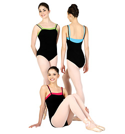 Adult Double Strap Camisole Leotard - Style No N8007