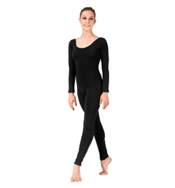 Basic Long Sleeve Unitard - Style No N8442