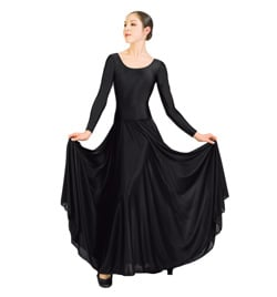 Long Sleeve Liturgical Dress  - Style No N8555
