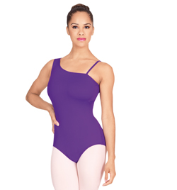 Asymmetrical Tank Leotard - Style No N8563x
