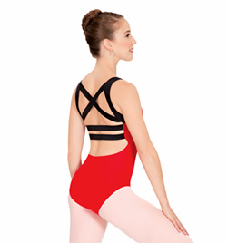 Adult Elastic Back Tank Leotard - Style No N8608
