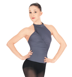Halter Leotard With Shirring - Style No N8618x