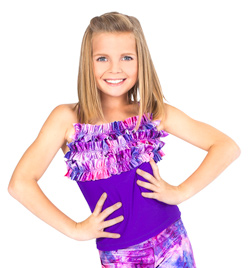 Child Camisole Ruffle Top - Style No N8685C