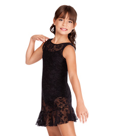 Natalie Child Lace Tank Overdress