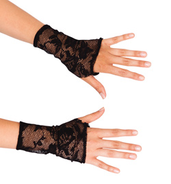 Natalie Adult Lace Mitts