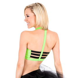 Adult Elastic Back Halter Bra Top - Style No N8744