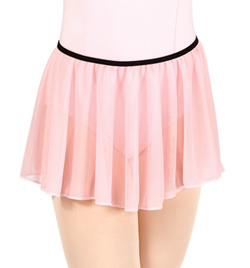 Girls Pull On Mesh Skirt - Style No N8757C