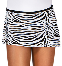 Child Zebra Pull-On Skirt - Style No N8805C