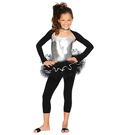 Child Tutu with Sequin Trim Skirt - Style No NF8506Cx