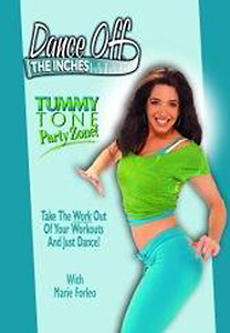 Dance Off the Inches: Tummy Tone Party Zone DVD - Style No NSDV14641