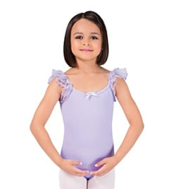 Child Flutter Sleeve Leotard - Style No PB103C