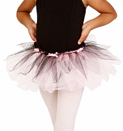 Child Two-Tone Tutu Skirt - Style No PB28048