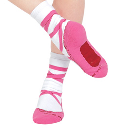 Child Pointe Shoe Socks - Style No PS903