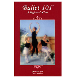 Ballet 101 DVD - Style No RIV101DVD