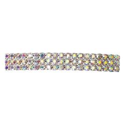 Crystal Aurora Borealis Barrette French Clip Large - Style No RU049
