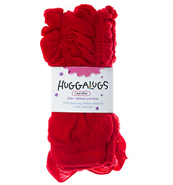 "Scarlett Red Child 14"" Ruffled Legwarmer - Style No RUFFLE3"