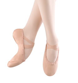 "Adult ""Pump"" Canvas Split-Sole Ballet Slipper - Style No S0277L"