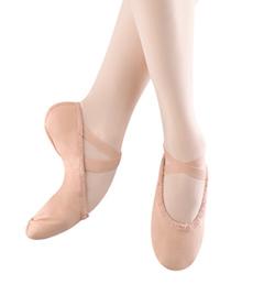 """Adult """"Pump"""" Canvas Split-Sole Ballet Slipper - Style No S0277L"""