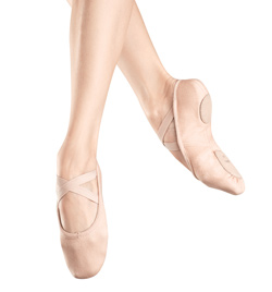 "Adult ""Zenith"" Stretch Canvas Split-Sole Ballet Slipper - Style No S0282L"