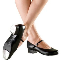 "Adult ""Kelly"" Split-Sole Buckle Tap Shoe - Style No S0370L"