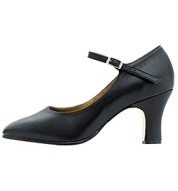 """Chord"" Ankle Strap Character Shoe with 3"" heel - Style No S0386L"