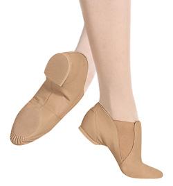 "Adult ""Elasta Bootie"" Slip-On Jazz Boot - Style No S0499L"