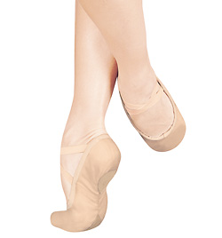 "Adult Unisex ""#1Pro"" Leather Split-Sole Ballet Slipper - Style No S1L"